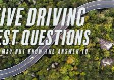 Five Driving Test Questions You May Not Know The Answer To_